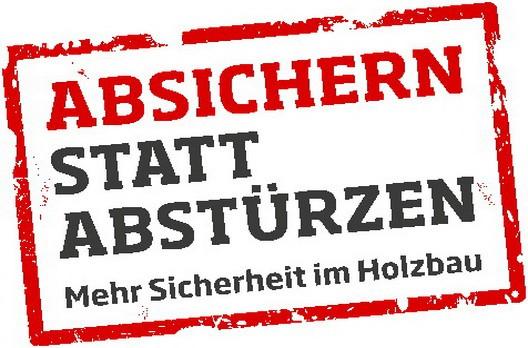 Kampagnen-Logo Absichern statt Abstürzen