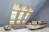 Roto Dachfenster 6er Kassette mit R6 und R8 Wohndachfenster