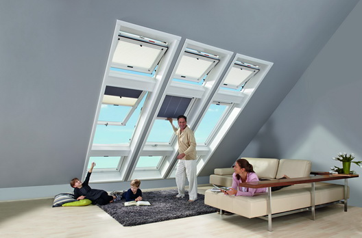 roto dachfenster kombination 6er kassette wei wohndachfenster dachgauben einbau service. Black Bedroom Furniture Sets. Home Design Ideas