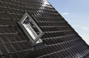 Roto Designo R3 Wohndachausstieg für Handwerker oder Kaminkehrer