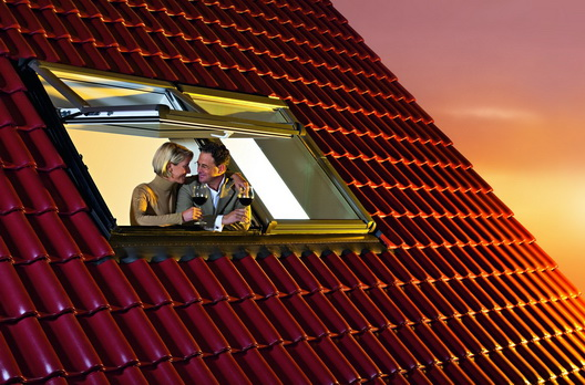 Roto Designo R7 Hoch-Schwingfenster - Zweier-Kombination