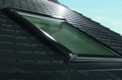 Roto Designo R8 Klapp-Schwingfenster - Außenansicht