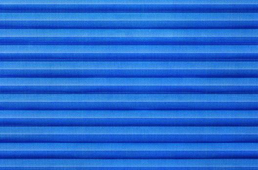 Roto Faltstore Blau lichtdurchlässig, Dekornummer A-113