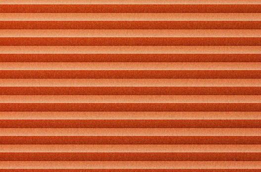 Roto Faltstore Orange lichtdurchlässig, Perlglanz-Beschichtet, Dekornummer B-124