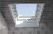 Badezimmer mit neuem Roto MR Fenster