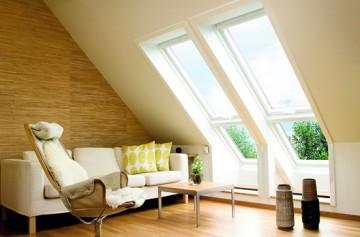 VELUX Wohndachfenster Ambiente