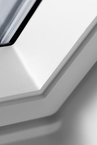 Fensterecke in Kunststoff - Produktdetail: VELUX Kunststoffqualität