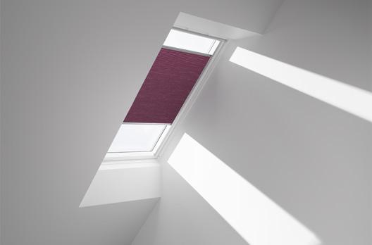 VELUX manuelles Faltstore DuoLine FHC, Farbe 1051 (pink)