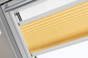 VELUX manuelles Faltstore FHL, Farbe 1062 (orange)